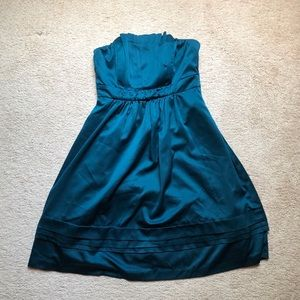 The Limited Teal Cocktail Dress